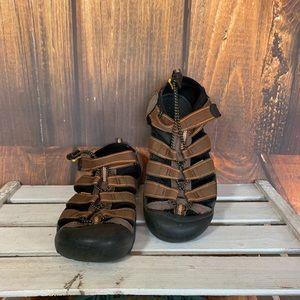 Keen 9212 Newport Waterproof Sandal Brown Size 6